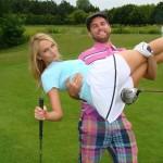 ÉNB Lali golfozás közben is csajozik