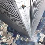Sétagalopp a World Trade Center ikertornyai között a levegőben