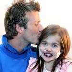 Így búcsúzott David Beckham a szívbetegségben elhunyt lánytól