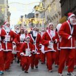 Ismét több ezer Mikulás fut a belvárosban