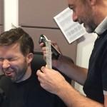 Megszabadult hajától Sebestyén Balázs