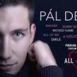 Valentin-napi koncert Pál Dénessel!