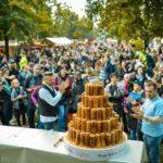 Közel 20 ezren ünnepelték együtt a kürtőskalácsot