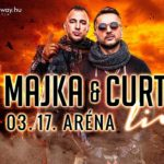 MAJKA & CURTIS LIVE – ARÉNA KONCERT 2018