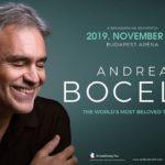 Andrea Bocelli újra Budapesten ad koncertet!
