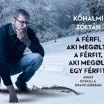 Megjelent Kőhalmi Zoltán első regénye